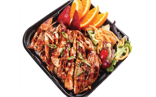 Japanese Fast Food Grill in Riverside menu chicken plate 525x328